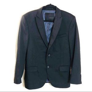 Zara Man Black Tag Blazer Sz US 40